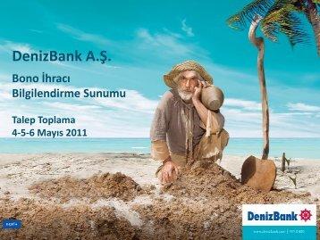 1. - DenizBank