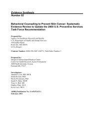 Behavioral Counseling to Prevent Skin Cancer - US Preventive ...