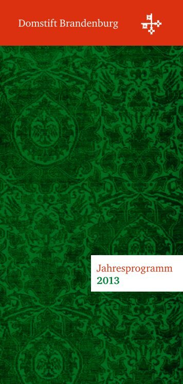 Termine hier als PDF - Dom zu Brandenburg