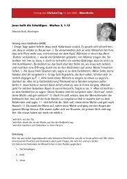 Deborah Groß - Lebendige Gemeinde