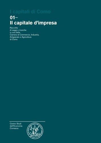 Il capitale d'impresa - Camera di Commercio