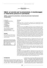 SMILE - Journal of Psychopathology