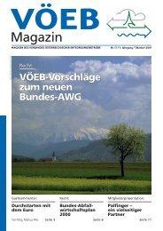 VÖEB Magazin