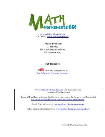 math worksheet : worksheet on rational exponents recall that for a rational  : Fractional Exponents Worksheet