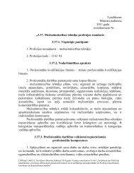 3.37. Mežsaimniecības tehniķa profesijas standarts 3.37.1.