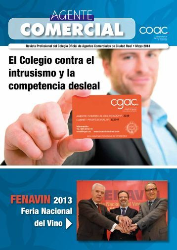 fenavin 2013 - Colegio de Agentes Comerciales de Ciudad Real