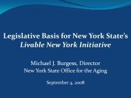 202 - New York State Office for the Aging