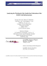 Analyzing the Workload of the South-East Federation of the EGEE ...