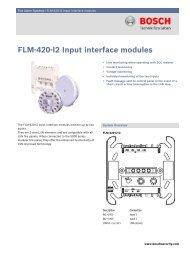 FLM-420-I2 Input interface modules - Alarmes Tucano