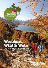 Wandern, Wild & Wein