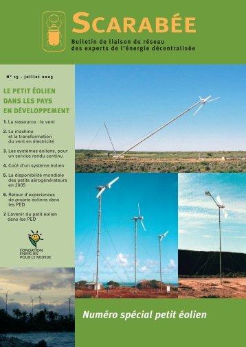 Scarabée 15 - Energies Renouvelables