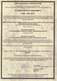 BRE Certification Limited and LPCB 0832-CPD ... - Schneider Electric
