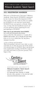 Download - Center for Talent Development :: Northwestern University - Page 3