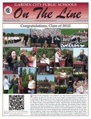 Graduation 2012 Newsletter - Garden City Public Schools