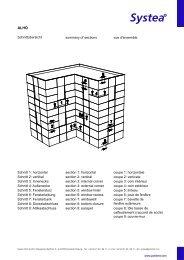Komplettsatz Zeichnungen DE/EN/FR 12/2012 - Systea