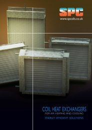 CoIL HEAT EXCHAngERS - S & P Coil Products Limited