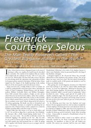 Frederick Courteney Selous - wildlife-baldus.com