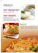 SkyCafé menu - Jet Airways - Page 2