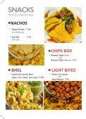 SkyCafé menu - Jet Airways - Page 4