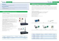 108M Wireless Adapter (Super GTM & eXtended ... - Gfo Europe S.p.A.