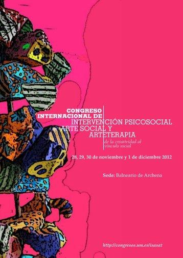 Arteterapia - Congresos Científicos de la Universidad de Murcia