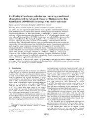 PDF Document - Meteorologisches Institut der Universität Bonn