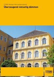 Überzeugend vielseitig dämmen - Xella International GmbH
