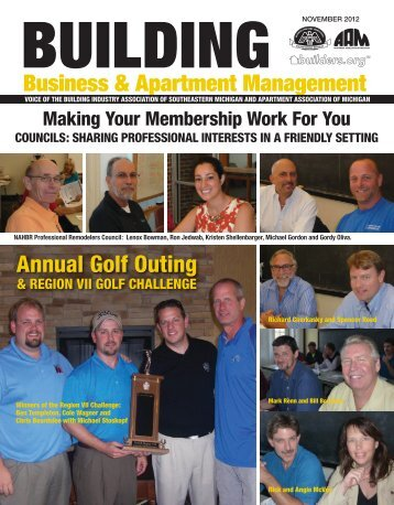 November 2012 BBAM Magazine - HBA of Southeastern Michigan