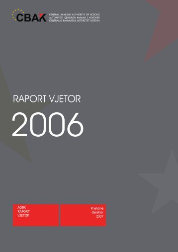 Raporti Vjetor 01 janar 2006 - Banka Qendrore e Republikës së ...