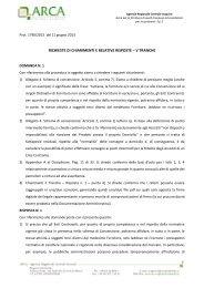 Risposte ai chiarimenti V tranche (370 KB) PDF - Agenzia ...