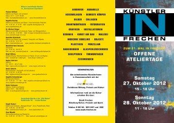 KÜNSTLER FRECHEN - Stadt Frechen