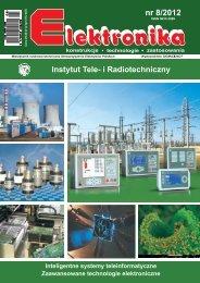 Elektronika 2012-08 I.pdf - Instytut Systemów Elektronicznych