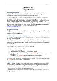 TAX GUIDANCE: Corporation Tax - Ecb