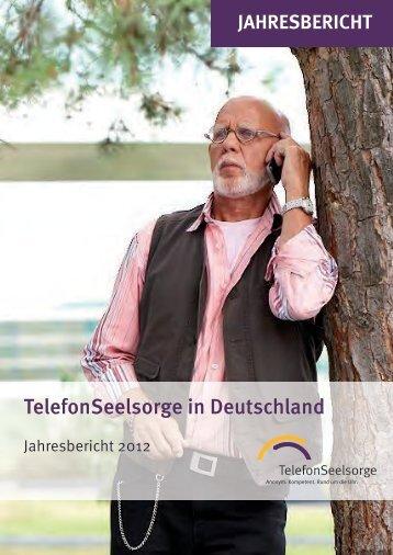 Jahresbericht 2012 - Telefonseelsorge