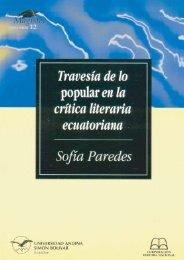 Travesía de lo popular en la crítica literaria ecuatoriana