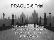 PRAGUE-6 Trial - Clinical Trial Results .org