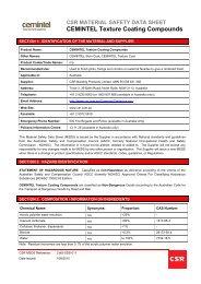 CEMINTEL Texture Coating Compounds - CSR