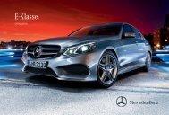 E-Klasse. - Mercedes-Benz Magyarország