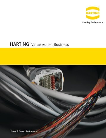 HARTING Value Added Business - Control Design