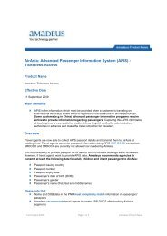 AirAsia: Advanced Passenger Information System - Amadeus