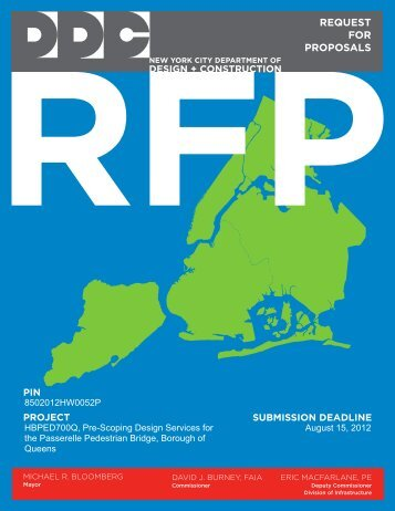 download a PDF of the RFP for review - Center for Architecture
