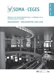 bibliographie 2005-2006 - Centre for Historical Research and ...