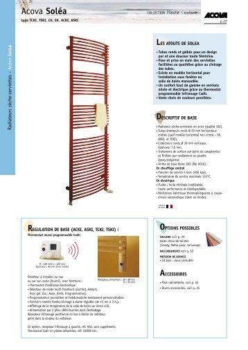 Acova Soléa - E-electrique