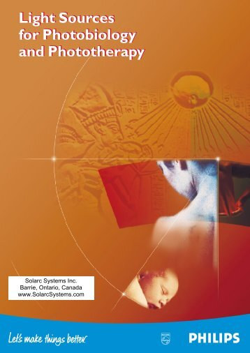Light Sources for Photobiology and Phototherapy Light Sources for ...