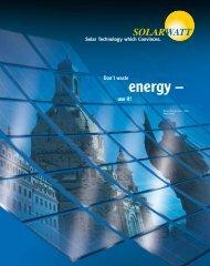 solarwatt company presentation - personal electric