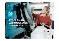 TYÖELÄMÄN VASTUULLINEN UUDISTAJA - Kotisivut.com
