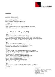 Monika Sosnowska & Andrea Zittel, Schaulager, Basel Projects 83 ...