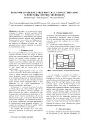 design of divergence-free protocol converters using ... - ResearchGate