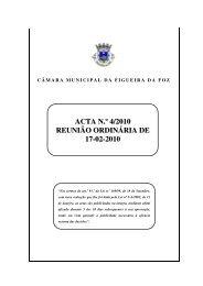ACTA N.º 4/2010 REUNIÃO ORDINÁRIA DE 17-02-2010