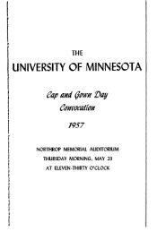t - University of Minnesota Digital Conservancy